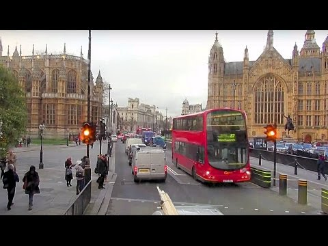 [British Bus Rides] London General SN60 BZB on Route 87 to Aldwych