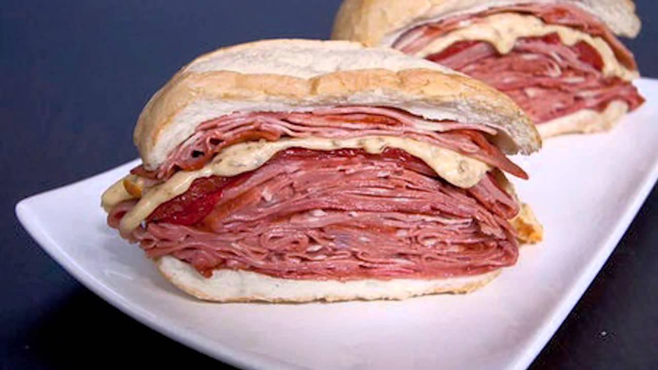 Mortadella Sandwich Mortadella Sandwich Hocca