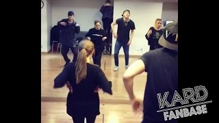 KARD - Don't recall Dance Practice (Staff Cam)