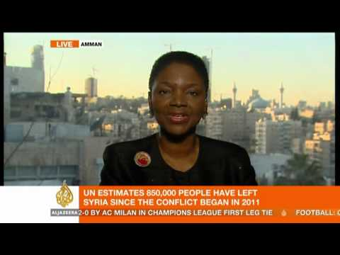 Interview: UN Humanitarian Affairs Chief Valerie Amos on Syria
