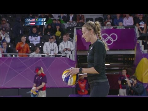Beach Volleyball Women's Prel - Pool C - USA v Austria Full Replay - London 2012 Olympic Games