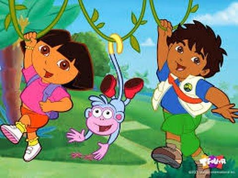Go Diego Go! Full Episodes Video Games for Children in English   Kids Games