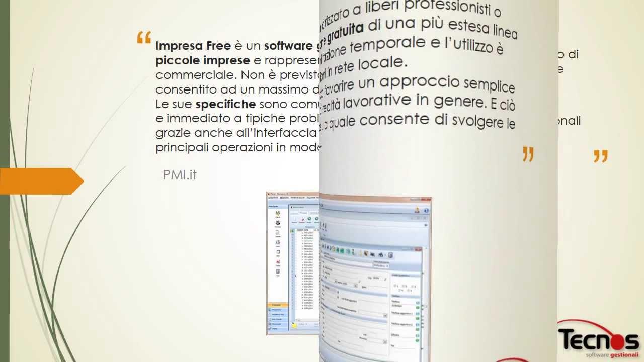 Recensioni su impresa free dai principali siti di software for Recensioni di software planimetrie
