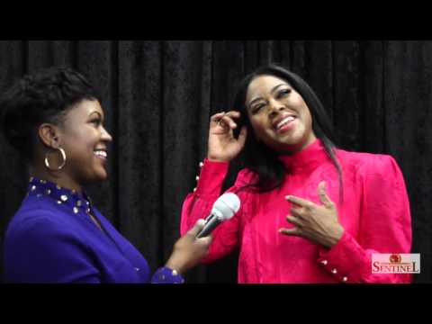 Kenya Moore Interview at the 2015 Iheart Radio Jingle Ball Tour Sponsored by Kiis FM