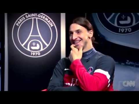 Ibrahimovic talks about messi and cr7