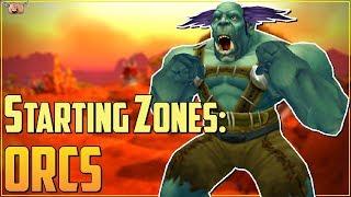 Warcraft Lore [Starting Zones] - Orcs: Valley of Trials / Durotar (Vanilla)