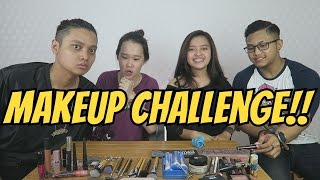 MY BOYFRIEND DOES MY MAKEUP WITH FELOZELI LRANDO & AA UTAP | Indira Kalistha