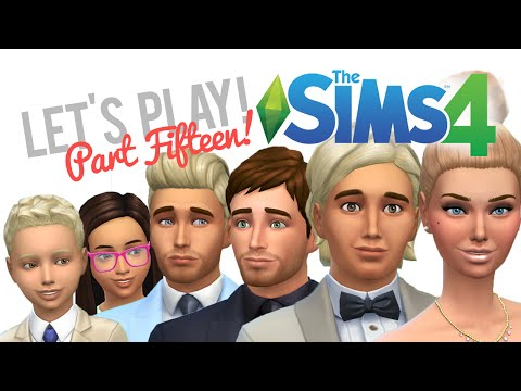 Let's Play The Sims 4 — Part 15 — The Wedding!