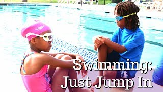 Swimming 101: JUST JUMP IN vlog | Summer 2017 | Simply Sims