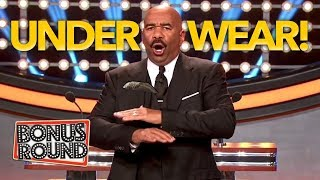 STEVE HARVEY Asks UNDERWEAR QUESTIONS and Gets Some FUNNY Answers!