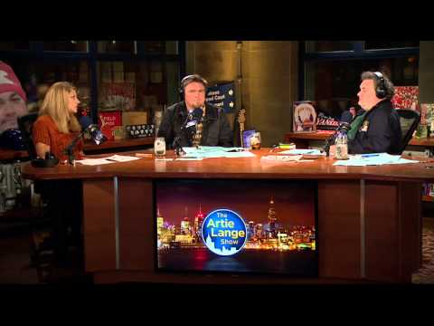 The Artie Lange Show - Bonnie Bernstein (in-studio) Part 1
