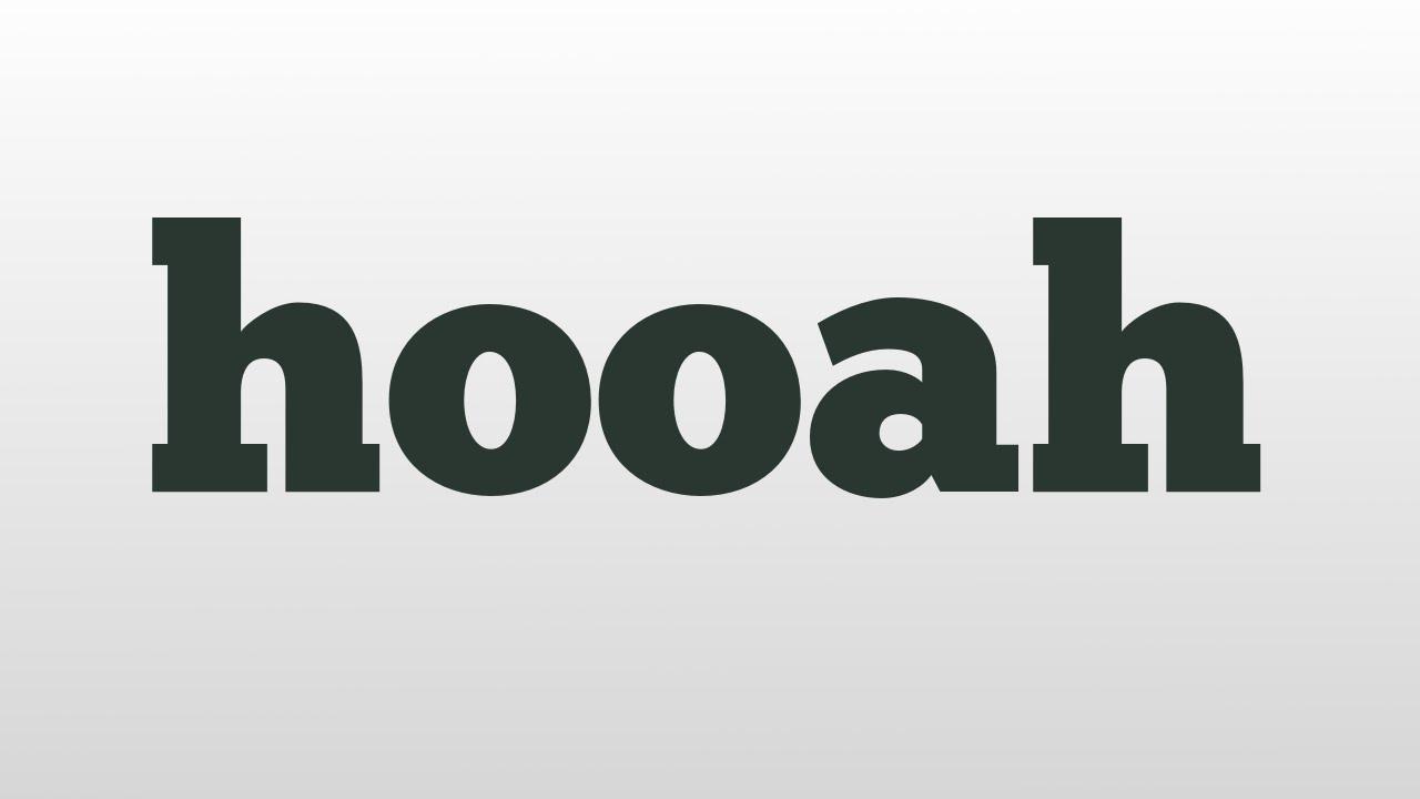 hoooah