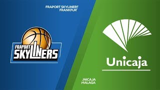 Fraport Skyliners Frankfurt - Unicaja Malaga  Highlights | 7DAYS EuroCup, RS Round 7