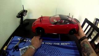 Tamiya TT01 Ferrari 599 Kit Build Part6 - UrbanRcLA