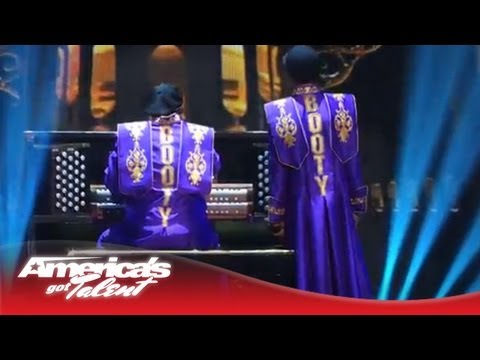 Tone Tha Chiefrocca - booty Classical Version - America's Got Talent Semi-finals 2013 video