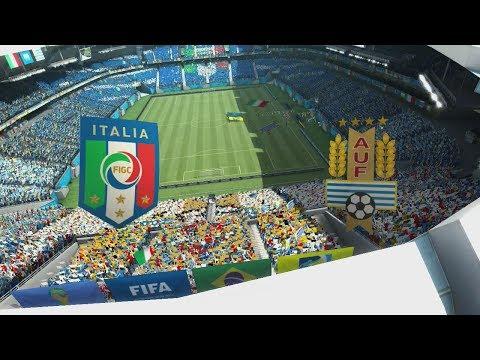 2014 FIFA World Cup Brazil - Italy vs Uruguay - [HD FULL Gameplay]