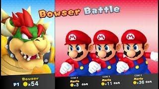 Mario Party 10 - Bowser amiibo Board (amiibo Party Mode)