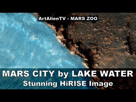 MARS CITY by LIQUID LAKE WATER: HiRISE Hot Spring Holliday? ArtAlaienTV - MARS ZOO 1080p