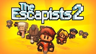 LOCKED BACK UP | The Escapists 2 | #1