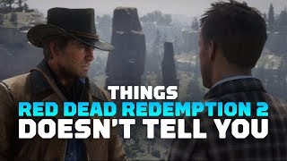 17 Things Red Dead Redemption 2 Doesn't Tell You