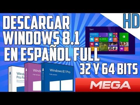 Como Descargar WINDOWS 8.1 PRO final español 32 & 64 bits gratis | 1 link