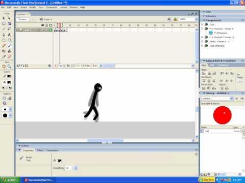 Как сделать flash анимацию macromedia flash