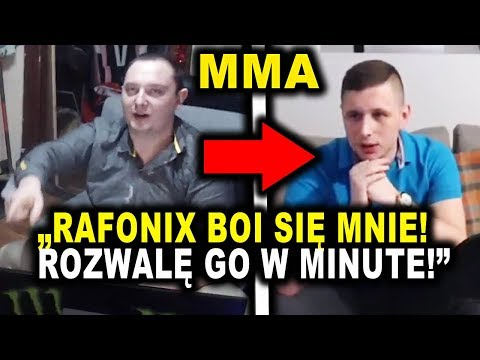 DANIELMAGICAL wyzywa RAFONIXA na WALKE MMA!