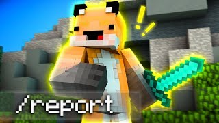 I Had To Report Him - Minecraft Bed Wars