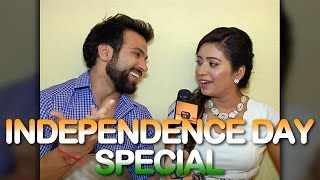 Rithvik Dhanjani tests Asha Negi's political knowledge | Independence Day Special