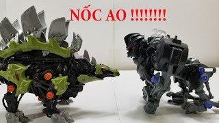 Zoids đồ chơi Thú Vương Đại Chiến Stegosage vs Knuckle Kong
