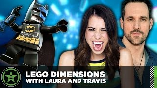 Let's Play - Lego Dimensions with Laura Bailey and Travis Willingham