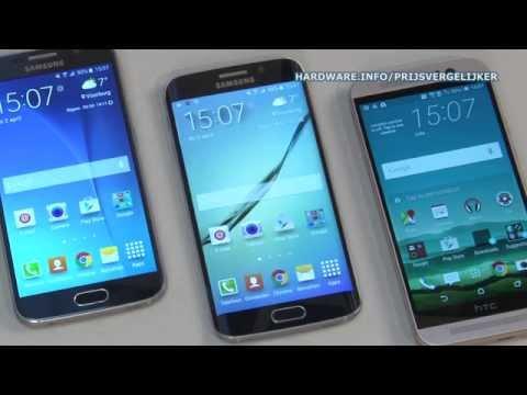 Samsung Galaxy S6 vs S6 Edge vs HTC One M9 review - Hardware.Info TV (Dutch)