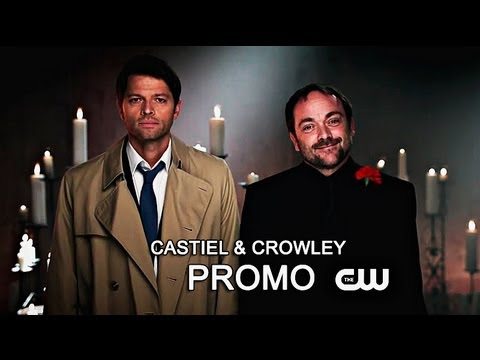 Supernatural Season 9 Castiel Crowley Promo