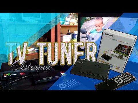 TV TUNER EKSTERNAL (Monitor Bekas Jadi TV atau Nonton TV di PC)
