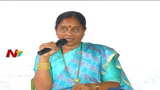 Konda Surekha slams KCR for giving land to Harikrishna memorial | NTV