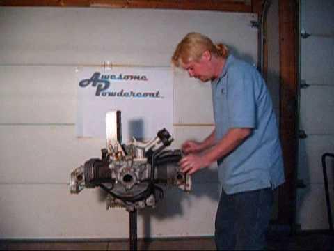 Part 8 - VW engine cylinder tin installation