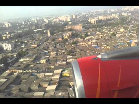Air india express landing in mumbai airport