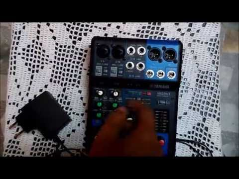 yamaha MG06X mixing console full review and demo