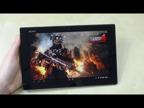 Sony Xperia Tablet Z: Gaming & Spiele   SwagTab
