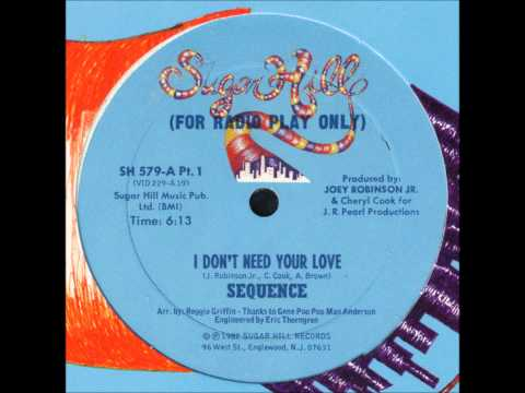 Sequence - I Dont Need Your Love