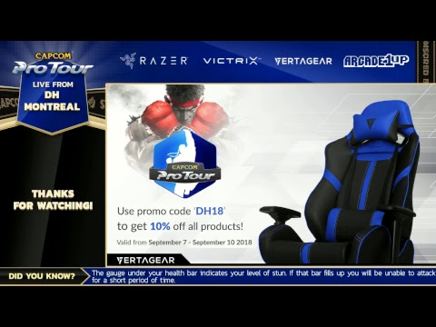CPT 2018 - DH Montreal - Top 8!