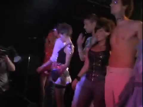 Glam Live Rocks!!! Body Paint Nude Runway Fashion Show video