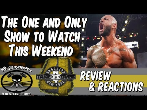 WWE NXT TakeOver Brooklyn 4 Full Show Reactions