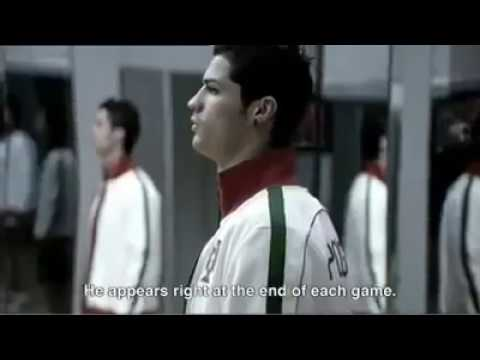 Cristiano Ronaldo - If you think you're perfect already, then you never will be