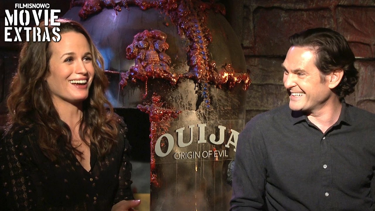 Ouija: Origin of Evil (2016) - Henry Thomas & Elizabeth Reaser talk about the movie