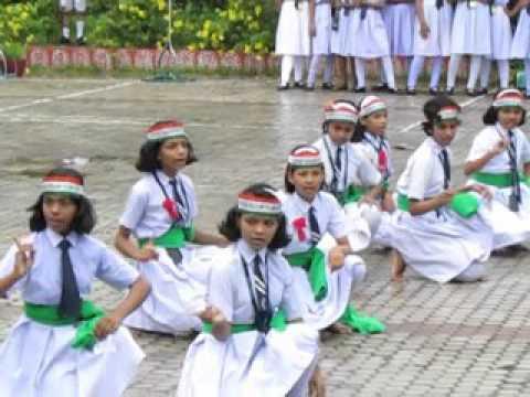 Patriotic Dance By Jr.  Girls of JNV Puri (Odisha).