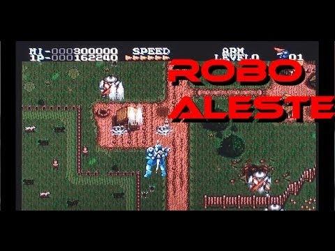 Robo Aleste on the Mega CD / Sega CD