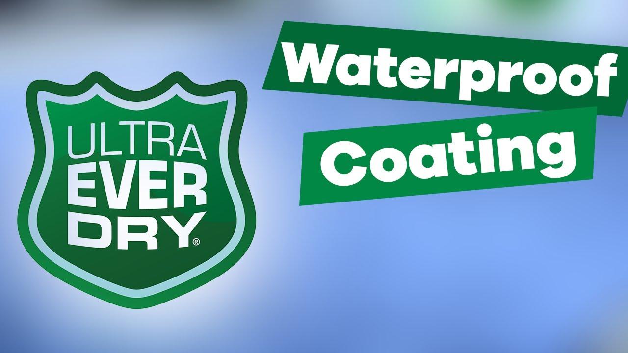 ultra ever dry waterproof coating youtube. Black Bedroom Furniture Sets. Home Design Ideas