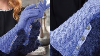 #27 Gloves, Vogue Knitting Winter 2011/12