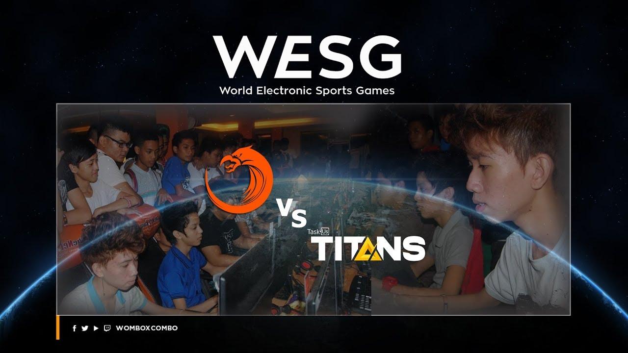 TNC PH vs TaskUs Titans   WESG PH Qualifiers